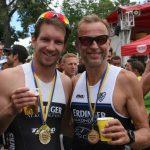 Christoph & Harald im Ziel